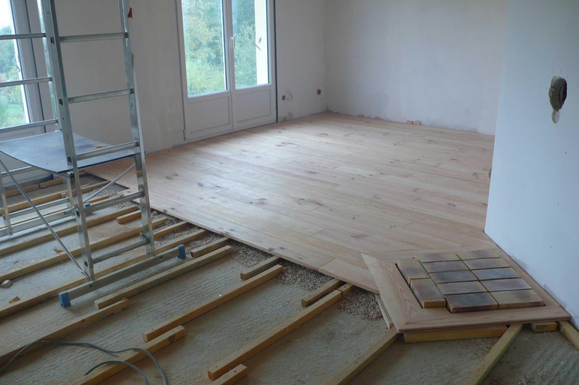 plancher pin contour cheminee menuiserie du. Black Bedroom Furniture Sets. Home Design Ideas